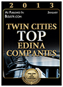 Twin Cities Top Edina Companies