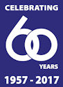 Nycor's 60th Aniversary Logo
